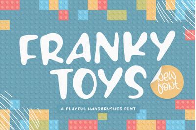 FREE FRANKY TOYS | Playful Handbrushed Font