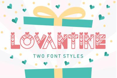 FREE Lovantine Font