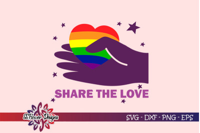 FREE Share The Love SVG