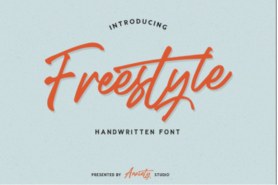 FREE Freestyle Handwritten Script