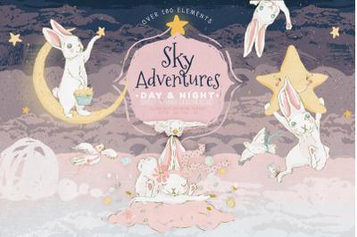 FREE Sky Adventures Illustration