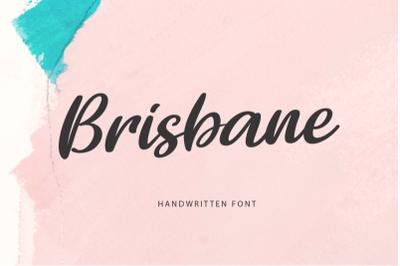 FREE Brisbane Handwritten Font