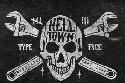 Helltown Font