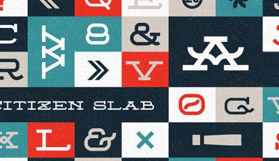 FREE Citizen Slab Font