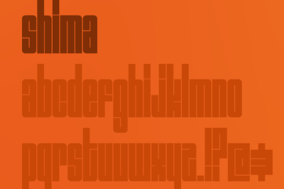 FREE Shima Font