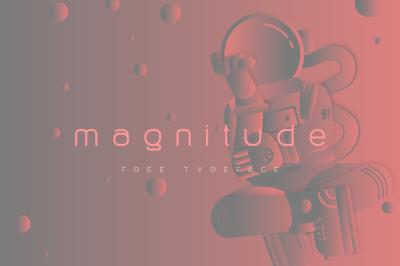 Free Magnitude Font