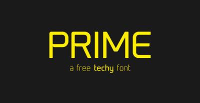 FREE Prime Font