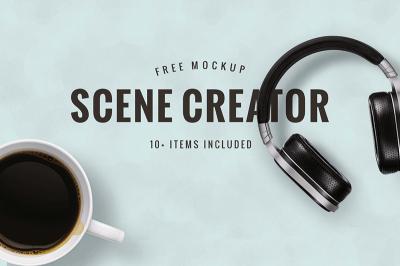 FREE Scene Creator Mockup