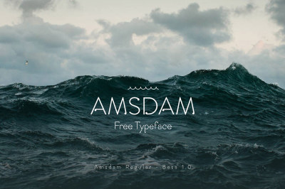 FREE Amsdam Typeface