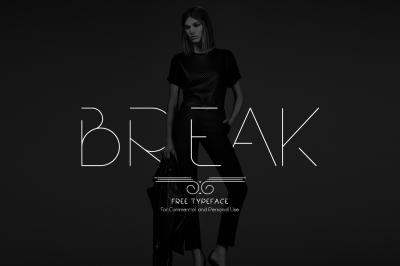FREE Break Font