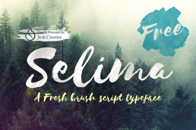 FREE Selima Brush Script