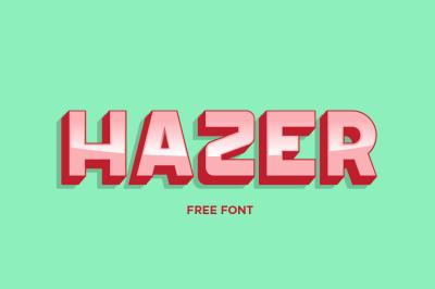 FREE Hazer Font