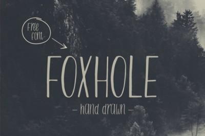 FREE Foxhole Font
