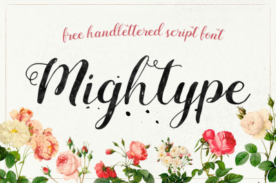 FREE Font: Mightype Script