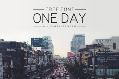 FREE Font: One Day Typeface