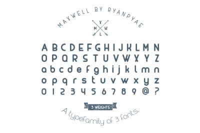 FREE Maxwell Font