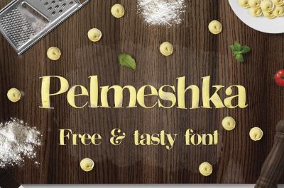 FREE Pelmeshka Font