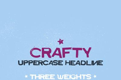 FREE Crafty Typeface