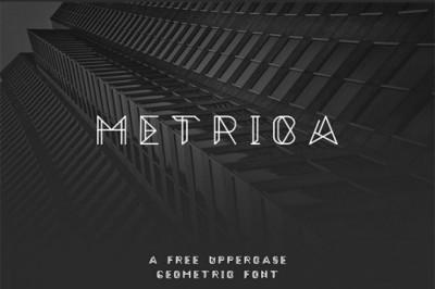 FREE Metrica Font
