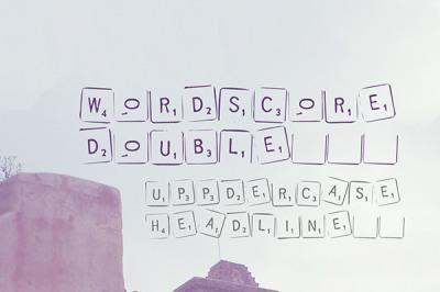 FREE LRC Wordscore Double font