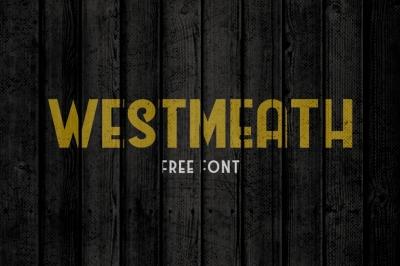 FREE Font: Westmeath