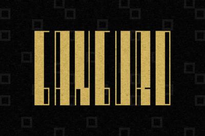 FREE Ganguro Font