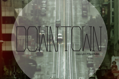 FREE Font: Downtown Typeface