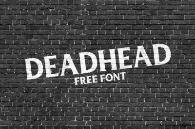 FREE Deadhead Font