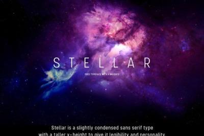 FREE Stellar Font (personal use)