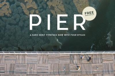 FREE Pier Font