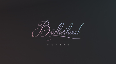 FREE Brotherhood font (personal use)