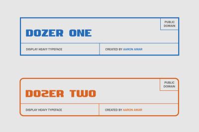 FREE Font: Dozer Typeface