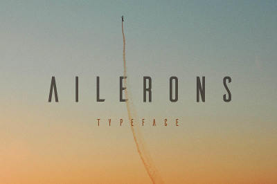 Free Font: Ailerons Typeface