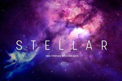 Free Font: Stellar Typeface
