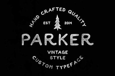Free Font: Parker Typeface