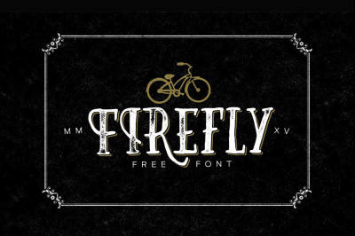 Free Font: Firefly Typeface