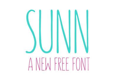 Free Font: Sunn Typeface