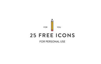 25x Editable Icons