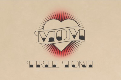 FREE Mom Font