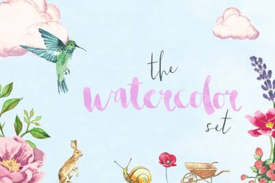 The Watercolor Set