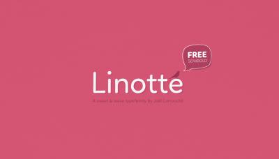 FREE Linotte Font