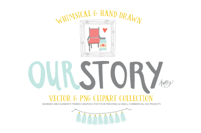 The Our Story Graphic Pack