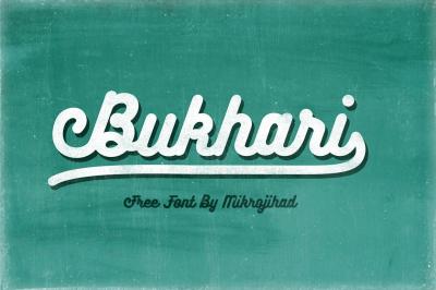 Free Font: Bukhari Script
