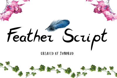 Free Font: Feather Script