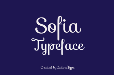 Free Font: Sofia Typeface