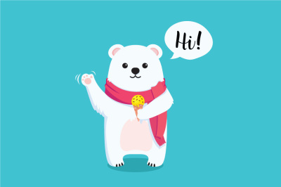 FREE Adorable Bear Graphic