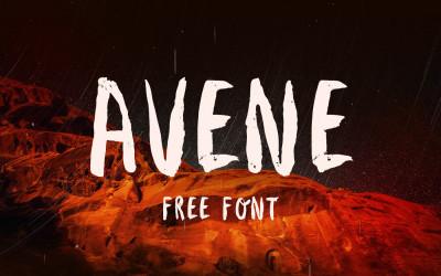 FREE Font: Avenie Brush