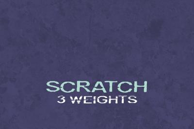 FREE LRC type- Scratch Font