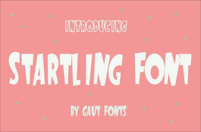 Free Font: Startling