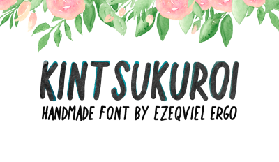 Free Font: Kintsukuroi Typeface
